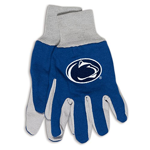 NCAA Penn State Nittany Lions Two-Tone Gloves, Blue - Pennsylvania Malls Outlet