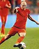 ARJEN ROBBEN NETHERLANDS SOCCER 8X10 SPORTS ACTION PHOTO (CAT)