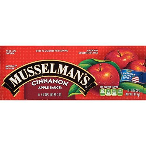 Musselman's Cinnamon Apple Sauce Cups, 4 Ounce by Musselmans (Image #4)