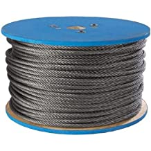 Amazon.com: 3/16 inches - Cable & Wire Rope / Pulling & Lifting ...