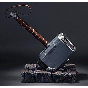 amazon com gmasking 2017 aluminum thor cosplay hammer 1 1 halloween