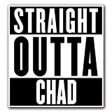 CHAD - [CUSTOMI] Straight Outta Series Custom Decal Sticker for Car Truck Macbook Laptop Air Pro Vinyl