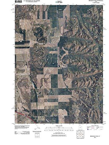 Utah Maps   2011 Ridgedale Pass, UT USGS Historical Topographic   Cartography Wall Art   44in x ()