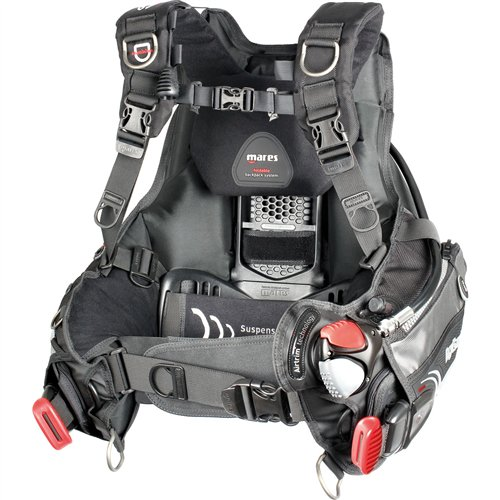 Mares Hybrid AT BCD with MRS Plus Weight Pockets - X-Large by Mares   B00BHPTHG0