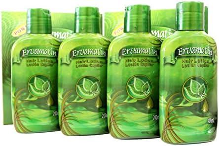 ervamatin lociones de pelo (2 botellas, 2 x 200 ml): Amazon.es ...