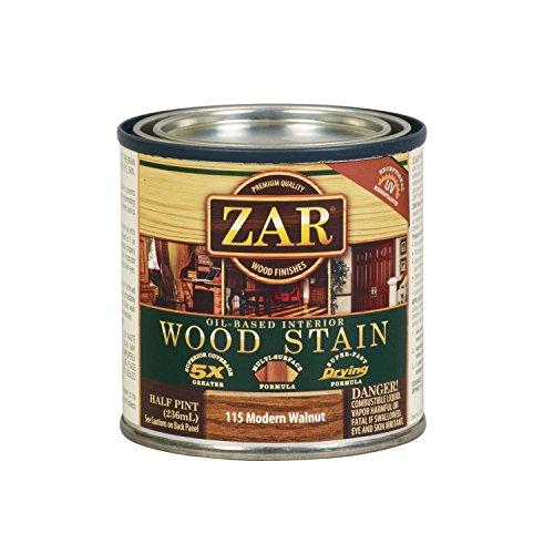 ZAR 11506 1/2PT Mod Walnut Stain, Modern