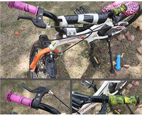 SM SunniMix 自転車パーツ ハンドルバーグリップ 20MM 子供用グリップ ゴム 滑り止め 握りやすい