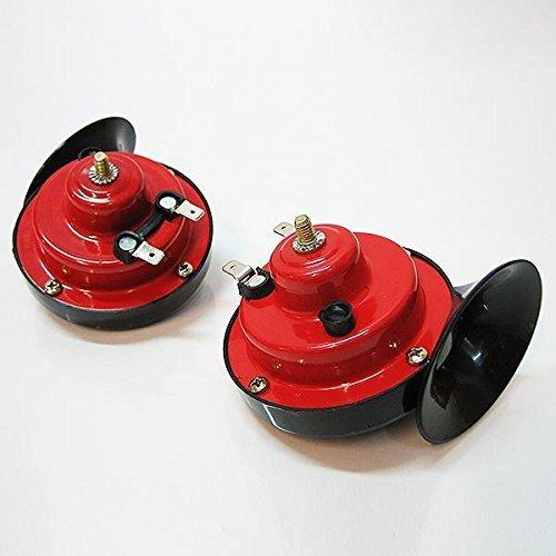 Bolo Romo ht3010/12/V Dual Tone fanfare Universal 2/sonore pour voiture camion Bus Bateau Klaxon /à air Horn Corne Sirene Voiture Caravane Automarket22