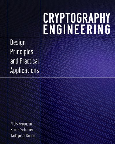 Cryptography Engineering: Design Principles and Practical Applications cover