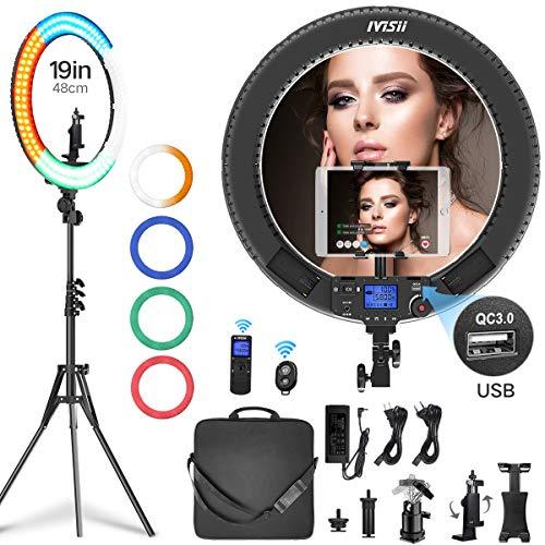Product Photography and Video Shooting NaNa DWFF LED Professional Photography Softbox Socket Light Lighting Kit for Photo Studio Portraits