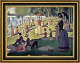 """This 37.25"""" x 47.25"""" premium giclee canvas art print of Apres-midi a l le de La Grande Jatte by Georges Seuratis meticulously created on artist grade canvas utilizing ultra-precision print technology and fade-resistant archival inks.Every detail of..."""