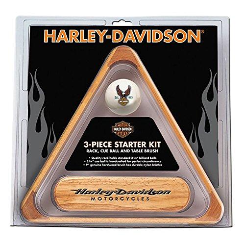 Harley-Davidson 3-Piece Billiard Starter Set