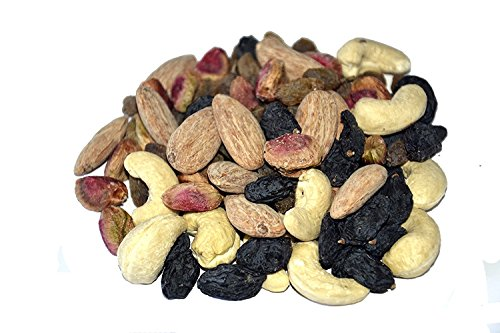 Leeve Roasted Salted Mixed Nuts and Raisins - 400gms by Leeve Dry Fruits