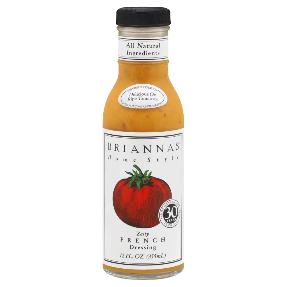 Brianna's Dressing Zesty French 12 Fl oz, Pack of 6