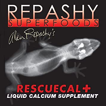 Repashy Superfoods - Rescue Cal+ - Liquid Calcium Supplement - Highly Bio-availible and High Concentrated (3oz)