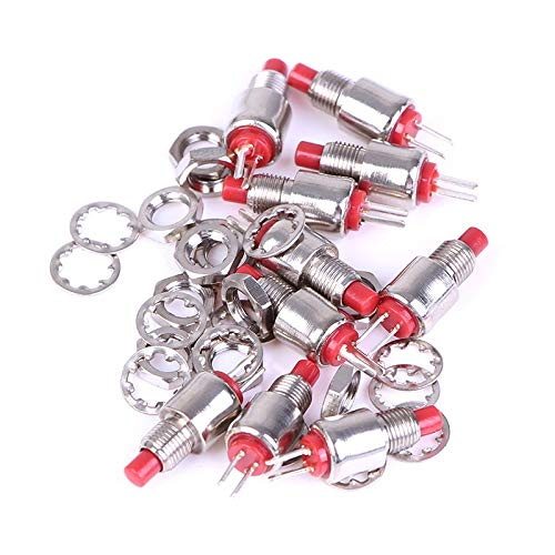(Switches - 10pcs 5mm Spring Return Momentary Micro Push Button Switch 0.5a 125vac Ds 402 - Spring Switch Foot 200a Strong Boost Voltage Cable Button Compress Rocker Input Hook Momentary Toggle C)