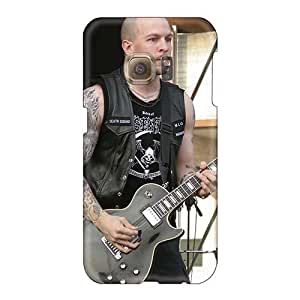 Protector Hard Phone Covers For Samsung Galaxy S6 (JuF18881LqXm) Allow Personal Design Attractive Mayhem Band Image