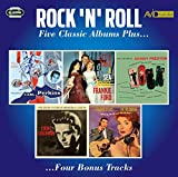 Rock N Roll - Five Classic Albums Plus (Dance Album Of Carl Perkins / Let's Take A Sea Cruise / Come Rock With Me / The Memorial Album / Chantilly Lace)