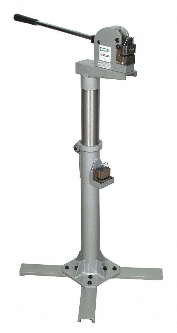 VEVOR Metal Stretcher Shrinker Stand for SS-18 Metal Shrinker Stretcher Stand 25-35 inch Adjustable Height Manual Shrinker and Stretcher Stand Steel Structure Sheet Metal Shrinker Stretcher Stand