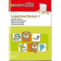 bambinoLÜK-Übungshefte / Kindergarten: bambinoLÜK: 3/4/5 Jahre: Logisches Denken 1