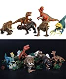 6 Pieces Dinosaurs Toy, Jumbo Solid Plastic Dinosaur Figures Set, Kids Learn and Education Toy