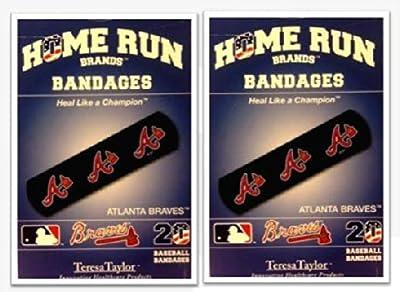 Atlanta Braves Bandages x 2 box (total 40 pcs)