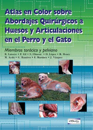 Download Atlas en color sobre abordajes quirurgicos a huesos y articulaciones en el perro y el gato. Miembros toracico y pelviano (Spanish Edition) ebook