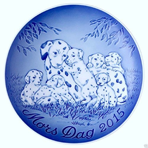 Royal Copenhagen Mothers Day Plate - Royal Copenhagen Bing & Grondahl Mother's Day Plate 2015 Dalmatian & Puppies New In Box