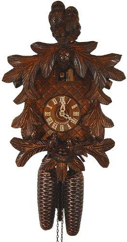 'isdd Cuckoo Clock – Uhr CUCÚ, Eulen, Vögel mit Nest auf