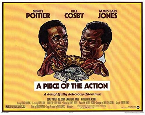 A Piece of the Action POSTER Movie (1977) Style A 11 x 14 Inches - 28cm x 36cm
