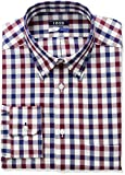 IZOD Mens Regular Fit Stretch Multi Gingham Dress Shirt