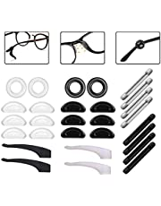 ILSSLI Ear Gripper Holders for Eyeglass Nose Pads Silicone Anti -Slip Glasses Eyeglasses Temple Tips Sleeve Retainer Extender for Eye Glasses Sunglasses of Adults and Kids,14 Pairs