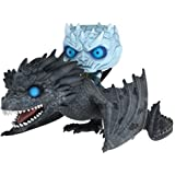 Funko - Figurine Game of Thrones - Rides Night King on Viserion Pop 18cm - 0889698286718