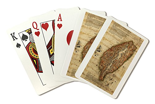 Taiwan - (1880) - Panoramic Map (Playing Card Deck - 52 Card Poker Size with Jokers)