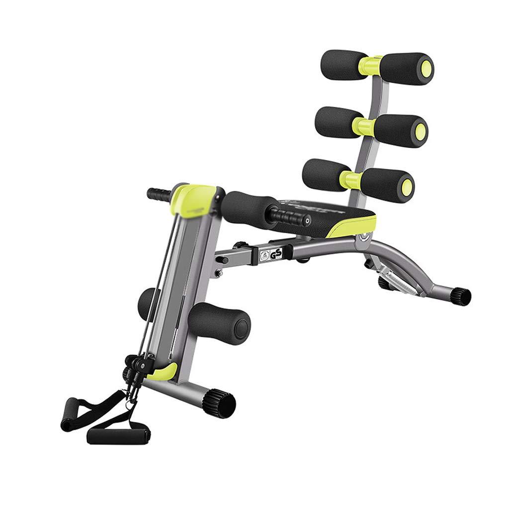 DUOER home 12 In 1 Fitnessgeräte, Abdominal Twister Trainer Höhenverstellbare Steigung Workout Ausrüstung Ab Exerciser, 360 ° Twisting