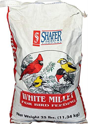Shafer White Millet 25 lb White