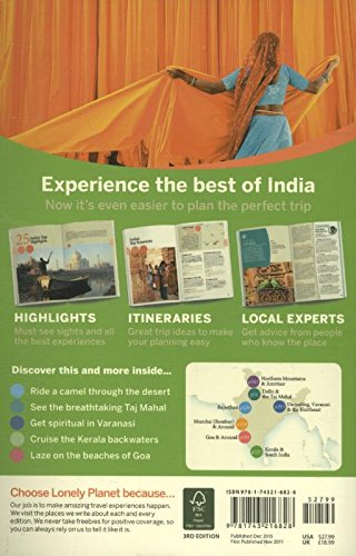 Discover India Travel Guide Lonely Planet Abigail Blasi Michael