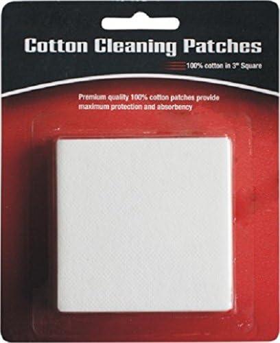 Pack de 50 PREMIUM algodón parches, pistola y rifle pistola limpieza Kit de parches/cleaing ~ 3