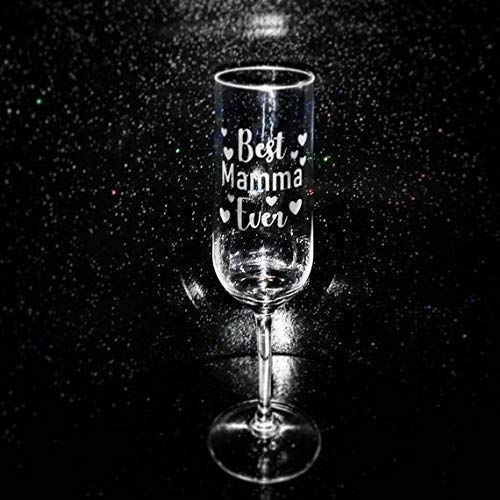 Mothers Day Gift Personalised Glass For Mum Nana Grandma