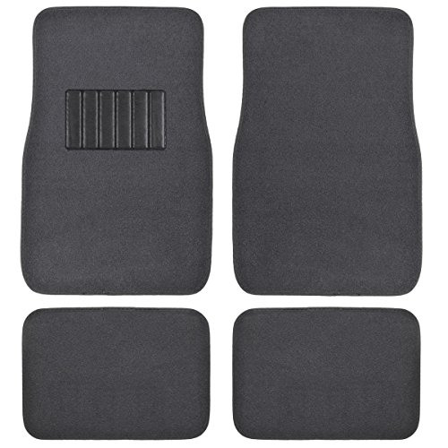 Auto Carpet Mats (BDK Universal Fit 4-Piece Metro Auto Carpet)