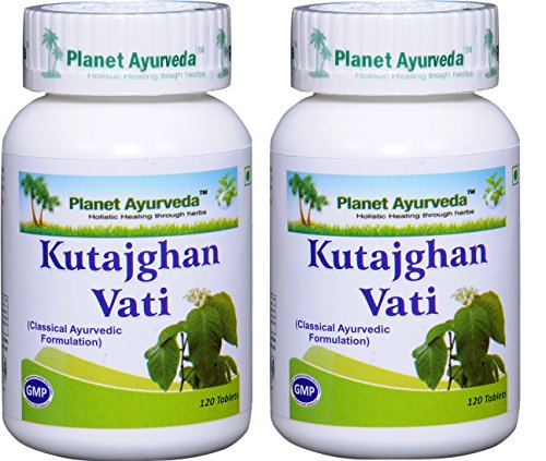 Planet Ayurveda Kutajghan Vati – Herbal Tablets, 100% Natural – 2 Bottles (Each Bottle contains 120 tablets) Review