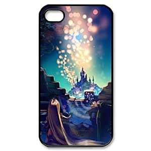 @ALL Dreamlike Castle Design Cover Case For Iphone 6 Plus (5.5inch)(Black) with Best Silicon Rubber