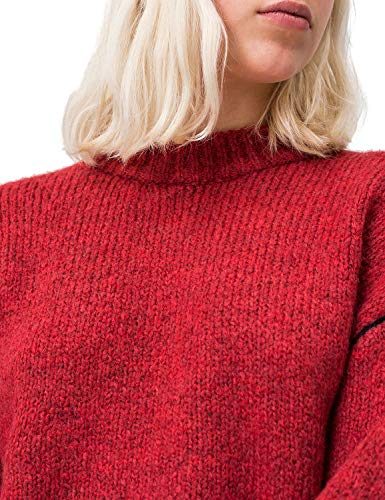 Melange Knit Mujer Rojo brilliant Para User Jersey Monday Cheap Red a1qRR