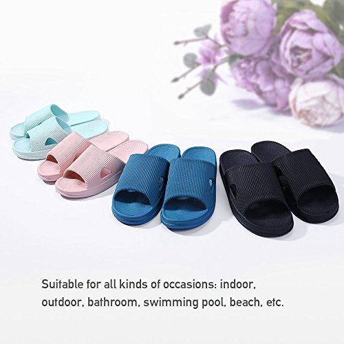 Household Sky Slip Slides amp;KATE Indoor Slippers Casual Summer WILLIAM Couple blue amp;Men Anti Slippers Women Bathroom Sandals ZEpfnHgwq