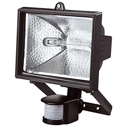 Bond Hardware 500W Halógeno Foco De Seguridad con Sensor de movimiento PIR: Amazon.es: Iluminación
