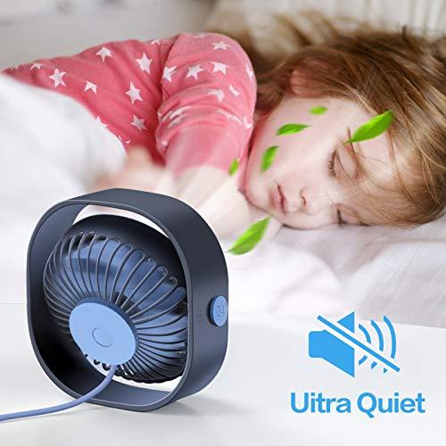 Usb Portable Lightweight Best Mini Desk Fan For Cooling Air