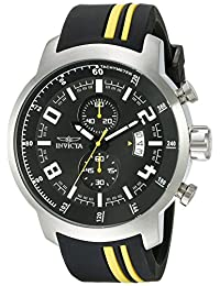 Invicta Men's 20216SYB S1 Rally Analog Display Quartz Black Watch