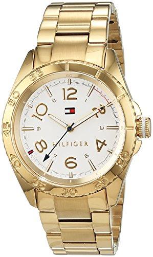 Tommy Hilfiger Damen-Armbanduhr Everyday Sport Analog Quarz Edelstahl beschichtet 1781638
