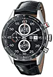 TAG Heuer Men's THCAR2A10FC6235 Carrera Stainless Steel Automatic Watch with Black Leather Band