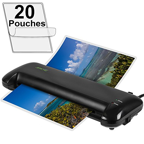 Apache AL13 13'' Thermal Laminator and 20 Laminator Pouches by Apache
